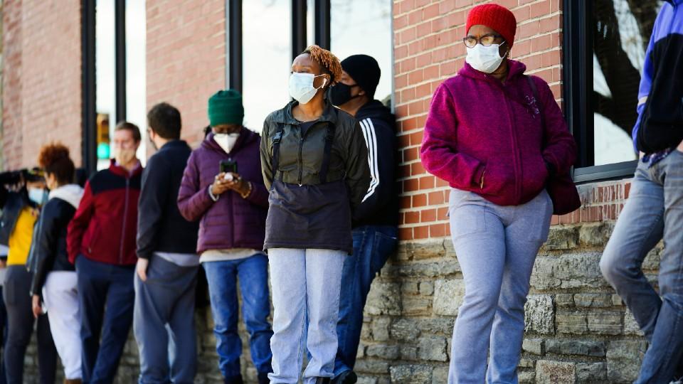 Vaccine site in Philadelphia