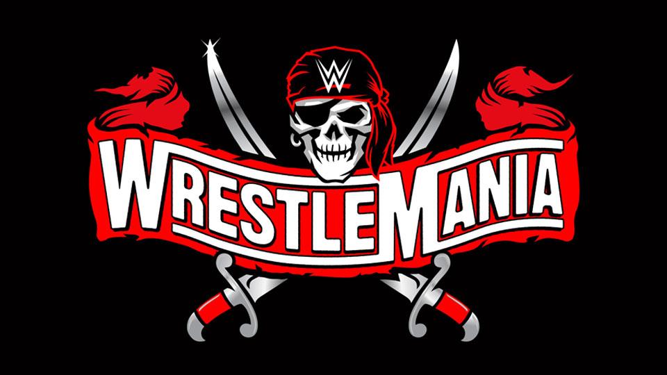 Wrestlemania 37 logo, generic