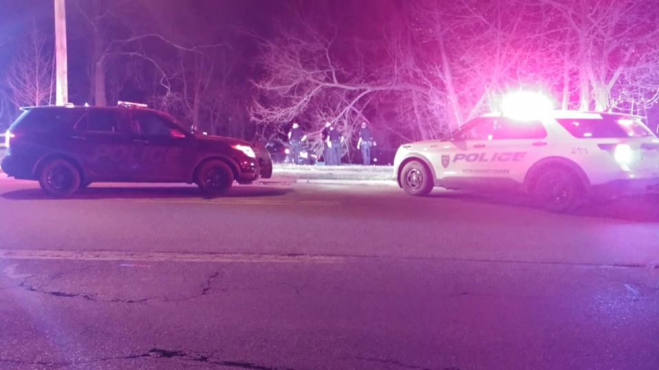Officers spotted a car with bullet holes in the side and tried to pull it over, but the driver took off and later crashed into a cement barrier near Willis and Glenwood avenues, according to police.