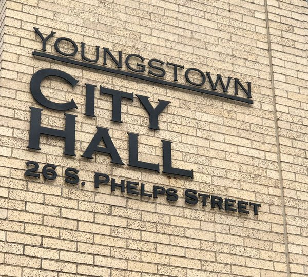 City Hall in Downtown Youngstown
