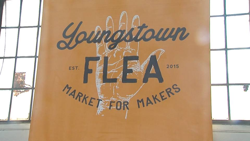 Youngstown Flea sign