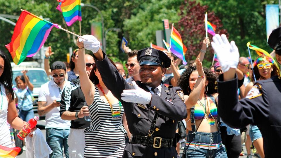 NYC Pride parade bans police