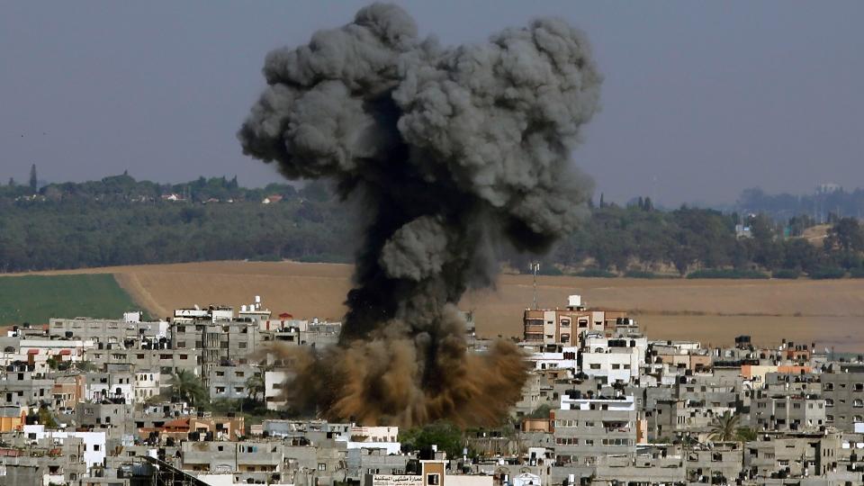 Rockets kill 2 Israelis