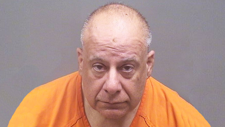 Anthony Koulianos was arrested on charges of aggravated menacing and inducing panic by Campbell police.