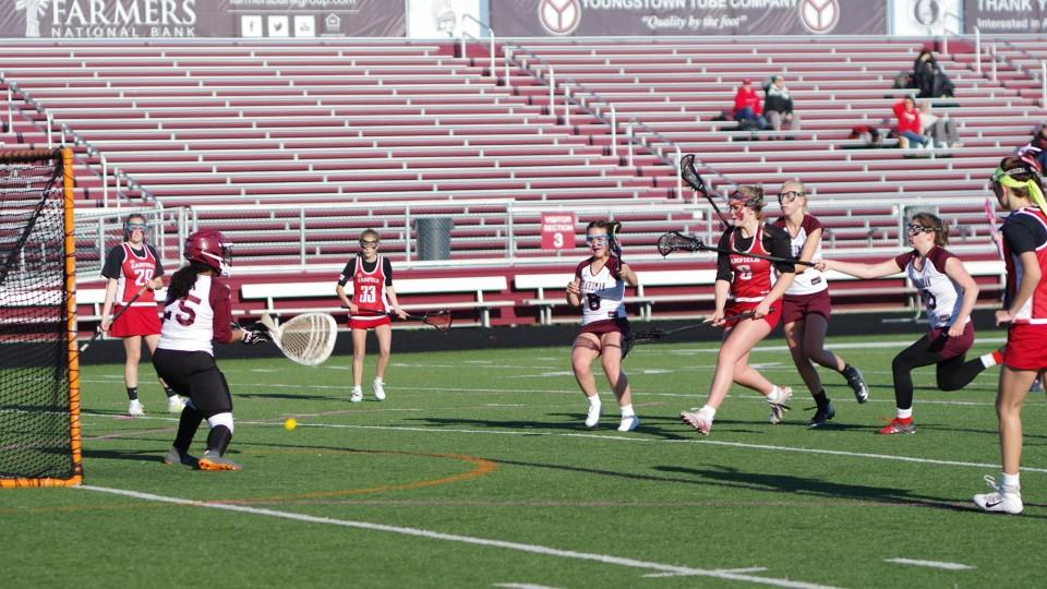 Canfield girls lacrosse
