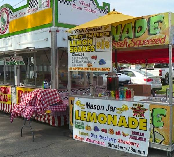 Sunday wrapped up Canfield's Taste of the Fair, where vendors broke out their best foods and drinks.
