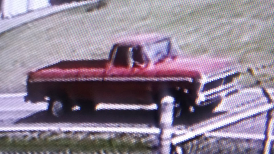 The Columbiana County Sheriff's Office is looking for information on this truck after it was involved in an incident over the weekend.