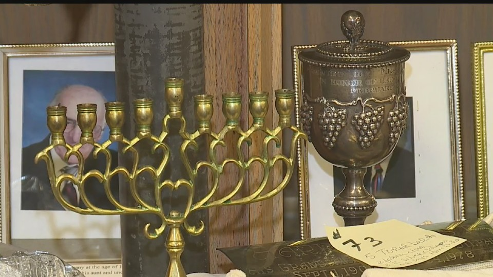 Congregation Rodef Sholom artifacts in Youngstown