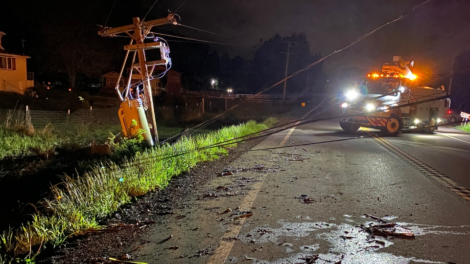 Crash on State Route 45 in Ellsworth Township