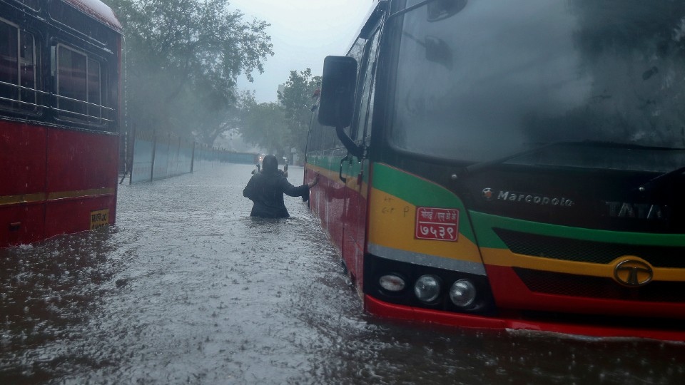 Cyclone Tauktae in Mumbai, India