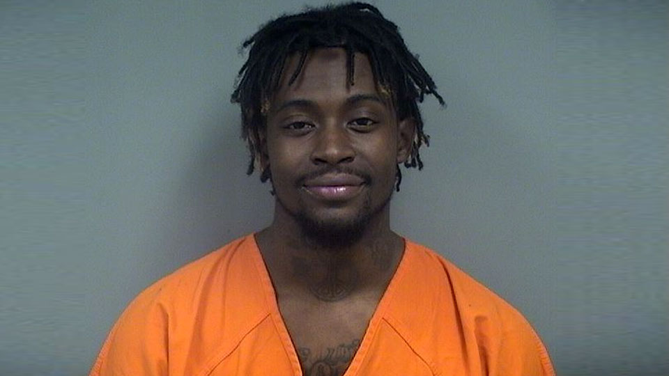 Emmanuel Hill, charged with felonious assault and endangering children in Youngstown.