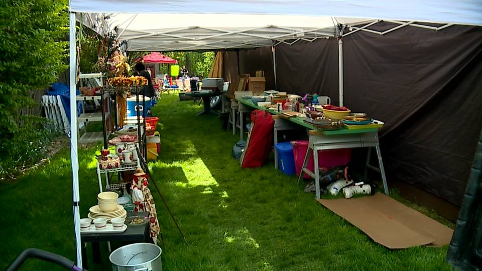 The Every Dog Matters Rescue Group held its annual garage sale Saturday.