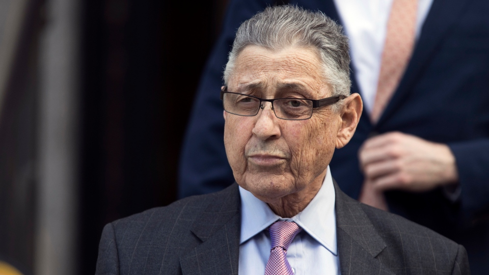 In this May 11, 2018 file photo, former New York Assembly Speaker Sheldon Silver leaves federal court in New York.