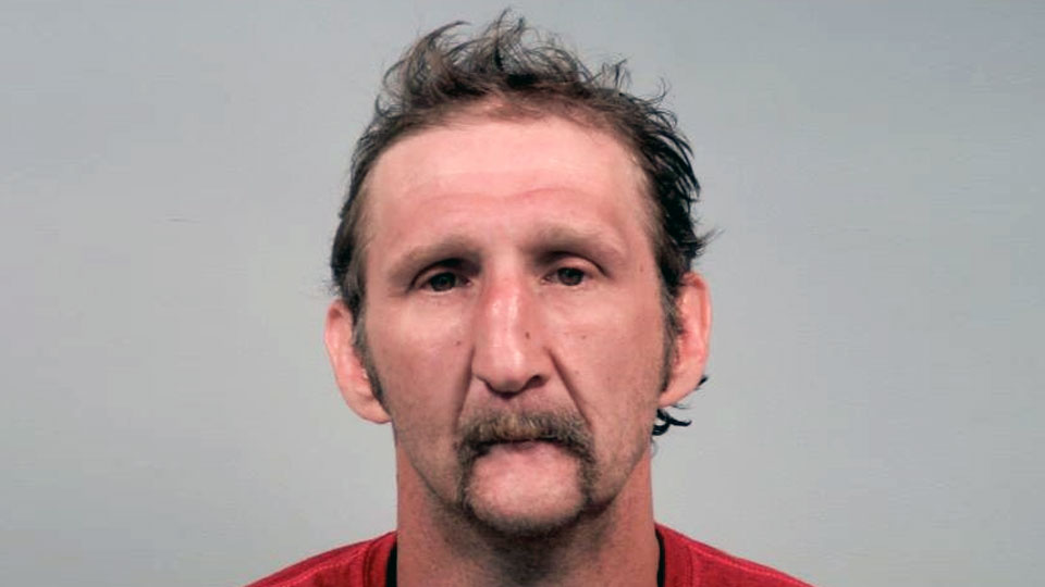 Hank Orr, charged with disseminating matter harmful to juveniles and telecommunications harassment in Liberty.
