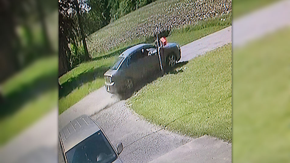 Hubbard Township police are looking for the people who vandalized several mailboxes Tuesday.