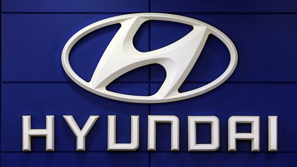 This July 26 2018 file photo shows the logo of Hyundai Motor Co. in Seoul, South Korea.