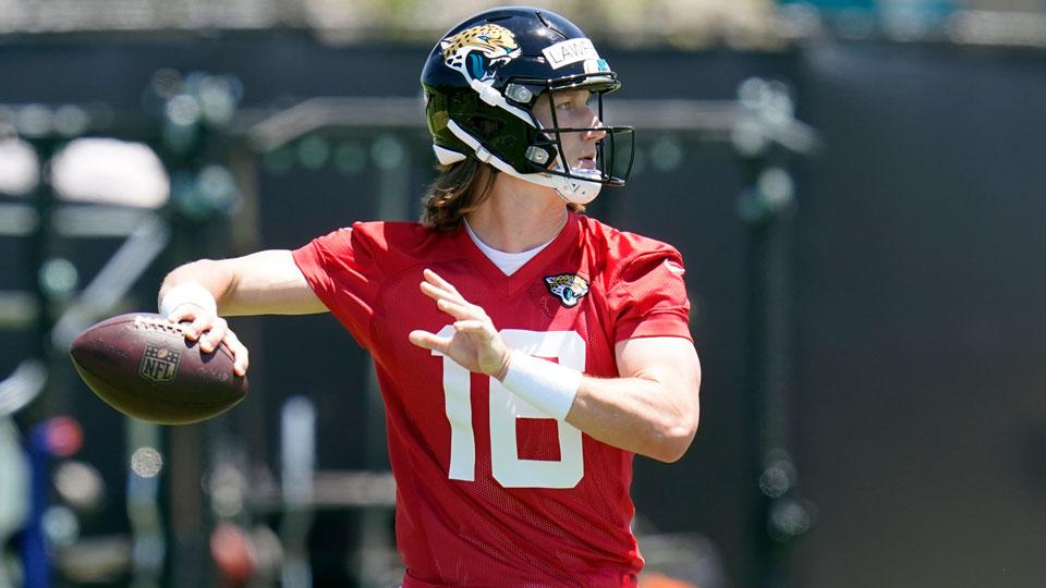 Jacksonville Jaguars quarterback Trevor Lawrence