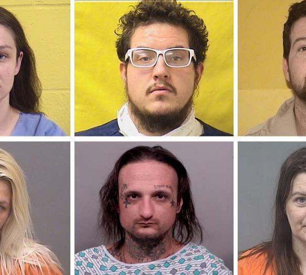 Jaclyn Szachury, Michael Lee, Neil Dye, Courtney Wilson, Timothy Lowery, Mary Clearwater, accused of selling meth