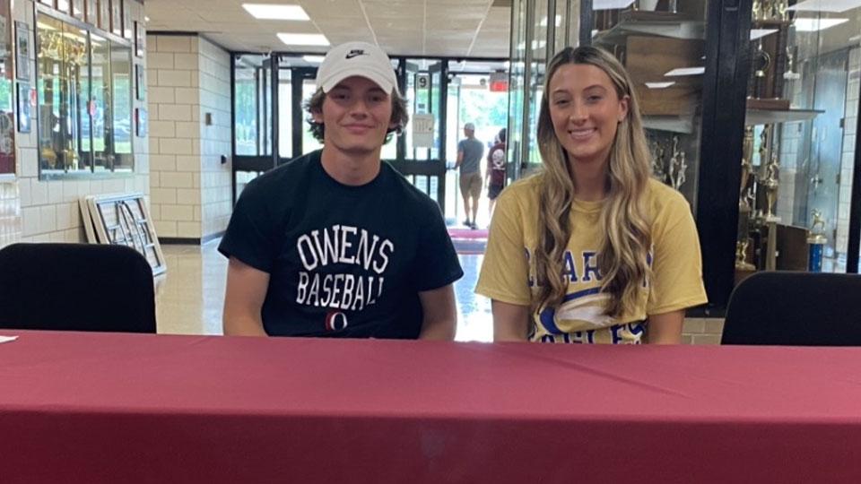 Jimmy Whippo and Kathryn O'Horo, Boardman Spartan High School