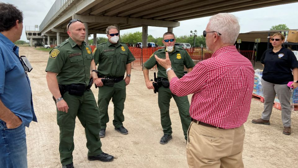Valley Congressman Bill Johnson took a trip to the southern border with Mexico.