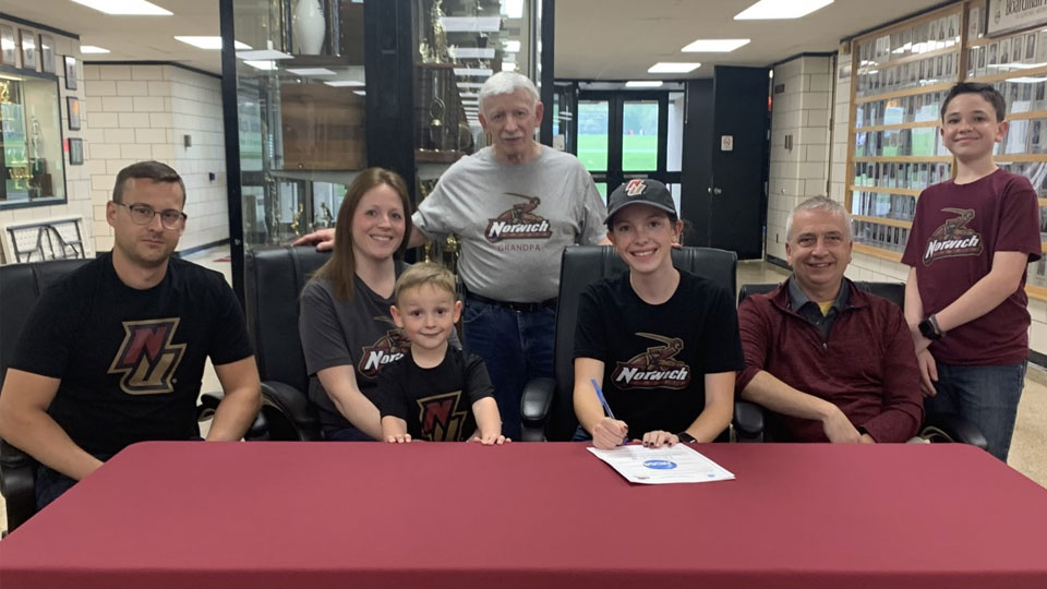 Julia Gorby will continue her running career at Norwich University in Vermont
