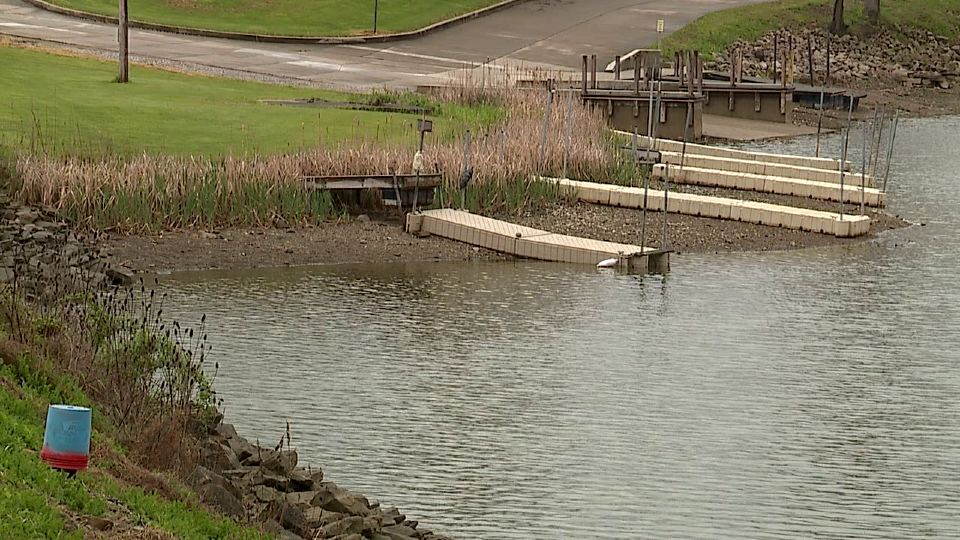 It's been a topic of conversation for those who use Lake Milton or live nearby for weeks - Why the level has been so slow to rise?