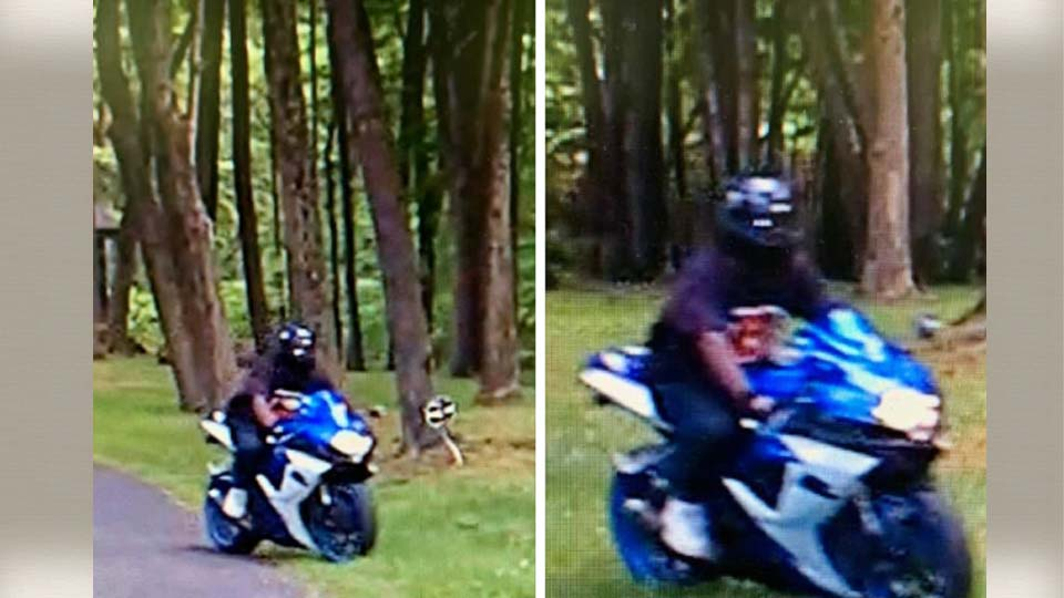 Liberty Police looking for motorcycle and individual for fleeing
