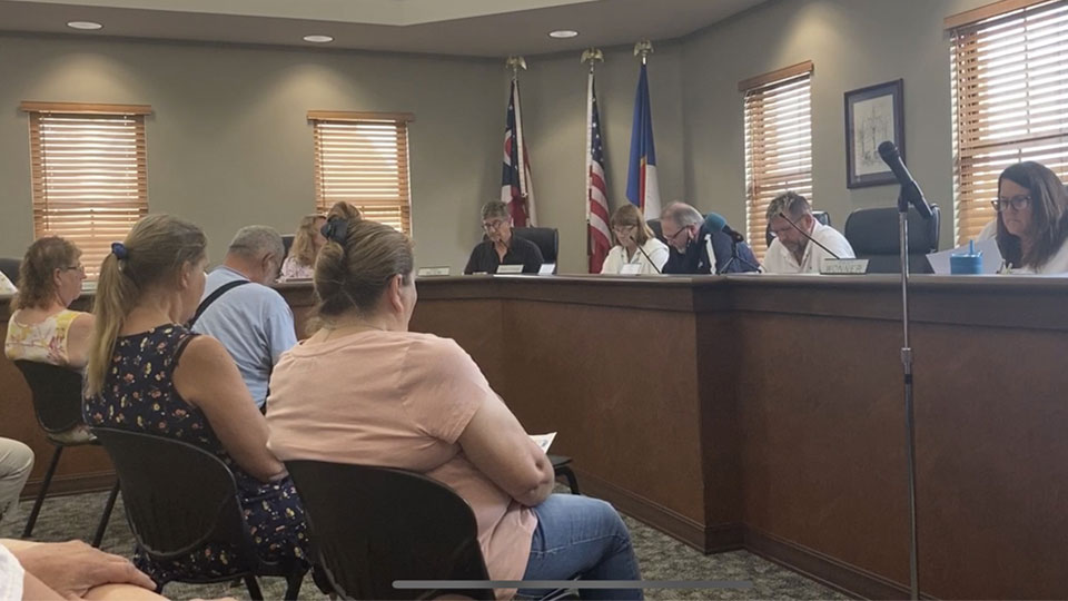 Topics of conversation during the Lisbon Village Council Meeting included opening the splash pad and police body cameras.