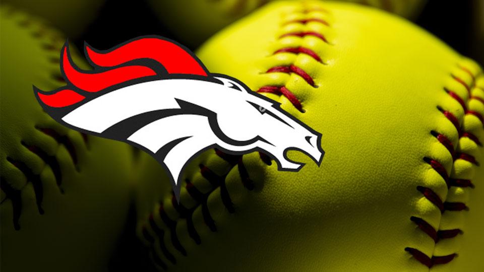 Mathews Mustangs softball