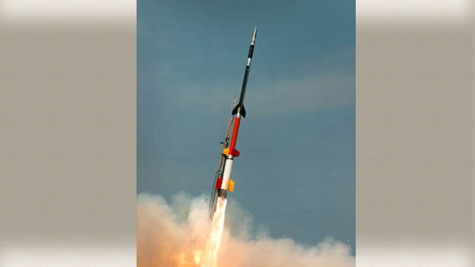 We will have a chance to see a rocket launching into space Saturday evening.