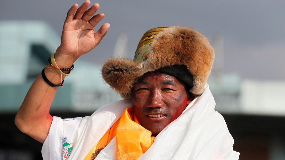 Nepalese veteran Sherpa guide, Kami Rita