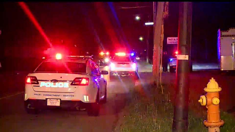 A chase that started in Niles ended in Youngstown.