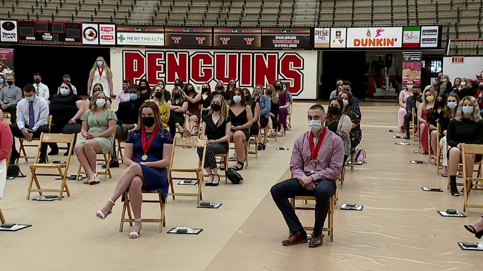 Thursday is National Nurses Day, which was celebrated at Youngstown State with a special ceremony for those graduating from the Centofanti School of Nursing.