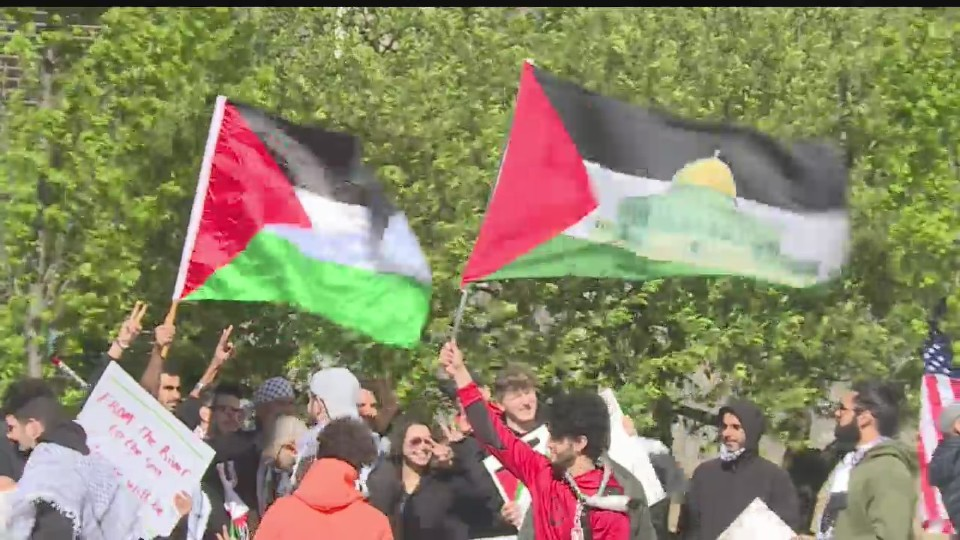 Pro-Palestinian protest in Youngstown