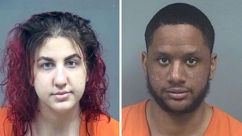 Rachel Galias, D'Shaune Riggins, Firearm charges Youngstown