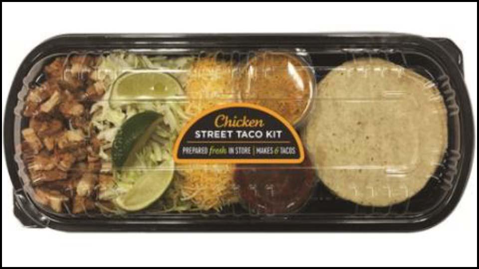 Recall: Giant Eagle Chicken Street Taco Kit