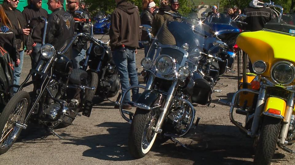 Riding for Rowan was held at noon Saturday to raise money for Rowan's Memorial Park.