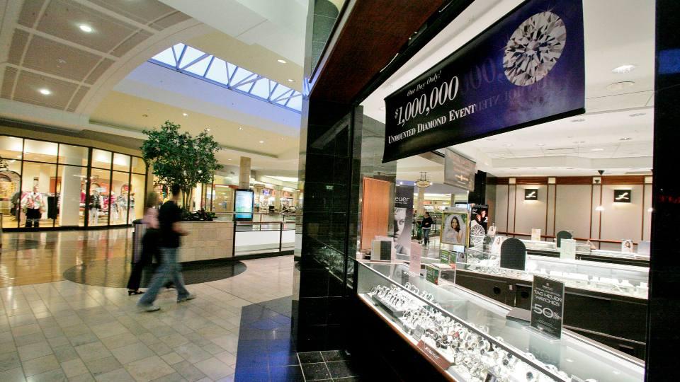 Inside Ross Park Mall