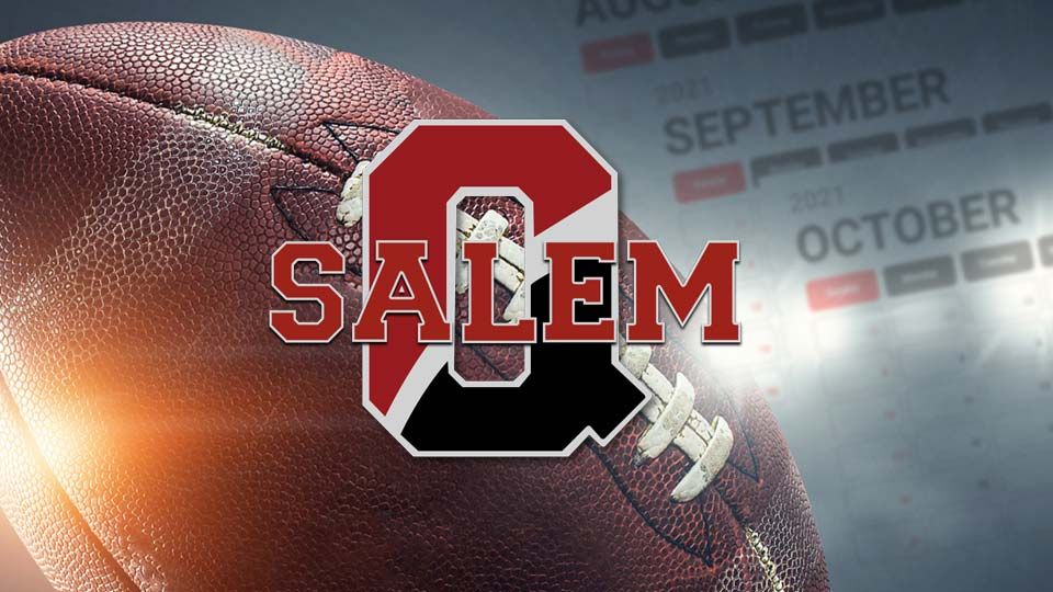 Salem Quakers, High School Football Schedule