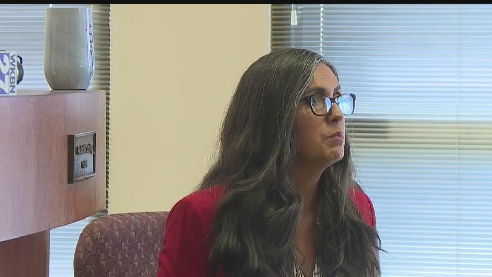 Trumbull County Commissioner Niki Frenchko
