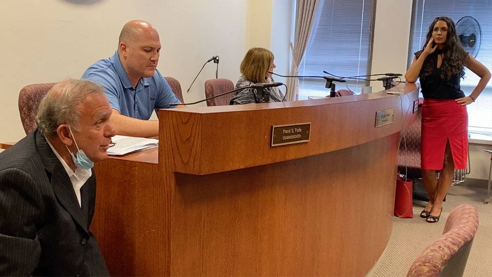 Trumbull County Commissioners, meeting discussing WRTA
