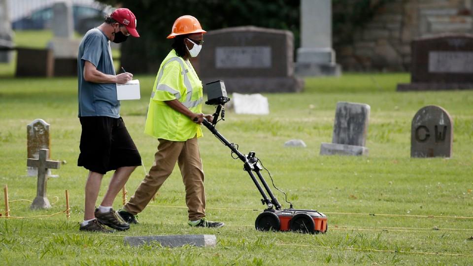 Tulsa Race Massacre Finding Graves