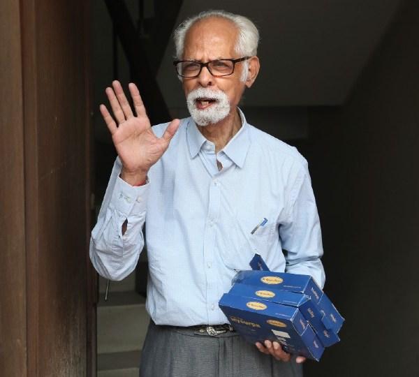 VP Kamala Harris' maternal uncle, Balachandran Gopalan