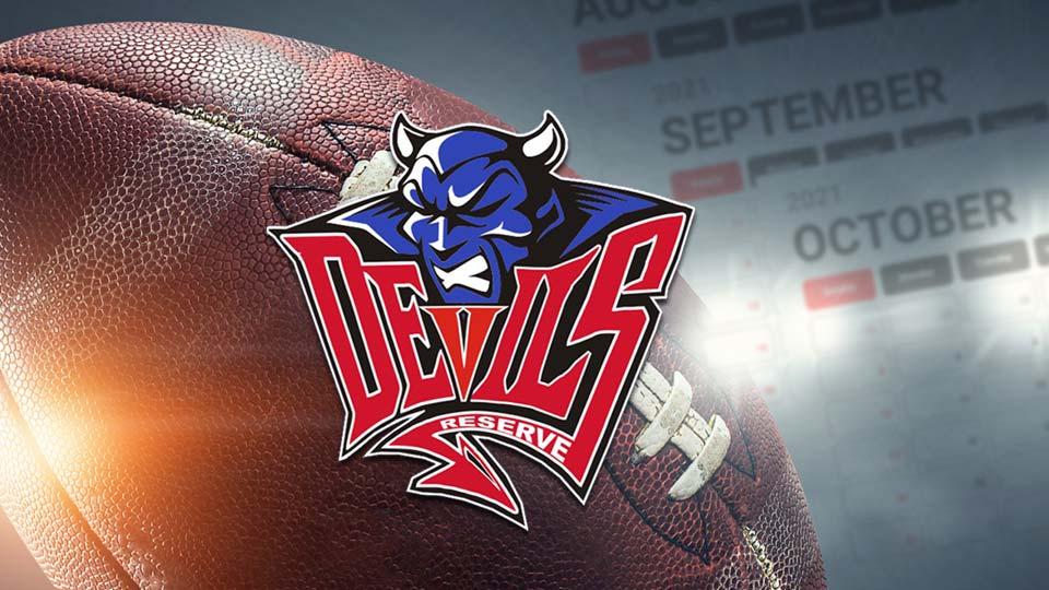 Western Reserve Blue Devils, High School Football Schedule