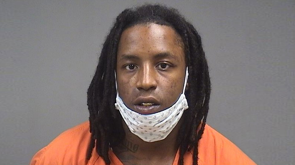 Yaumbrail Jones, charged with being a felon in possession of a firearm in Youngstown