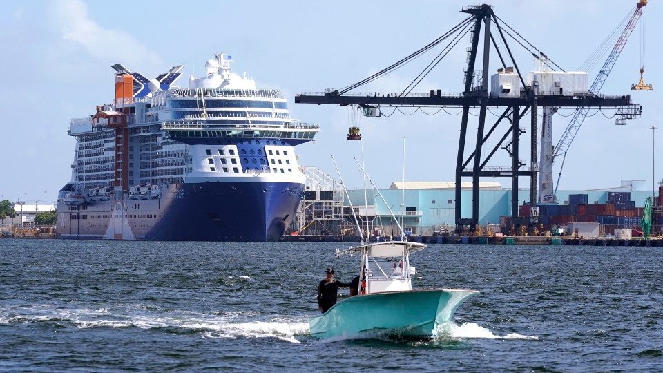 All Aboard! 1st post-pandemic cruise ship readies to sail