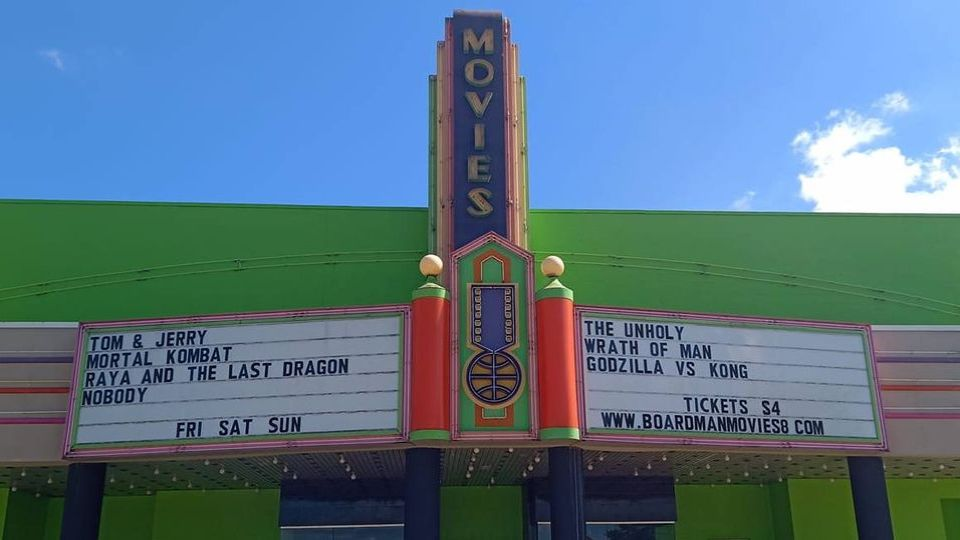 Movies 8 in Boardman is opening soon.
