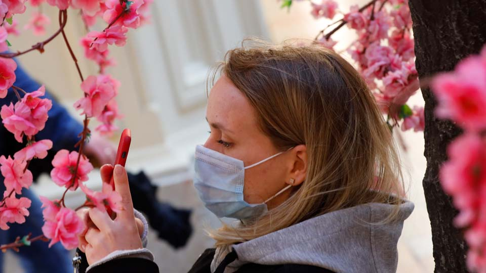 The Latest- Virus infections are rising sharply in Moscow