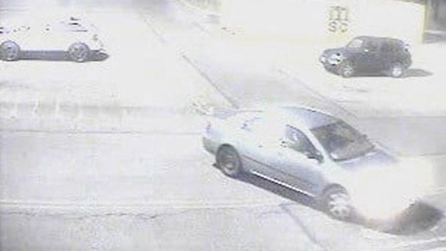Austintown retail theft suspect car