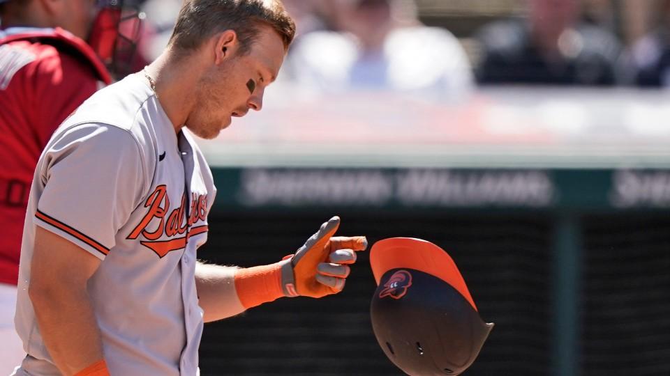 Baltimore Orioles' Pat Valaika